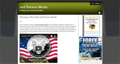 Preview of andpreciousmetals.org